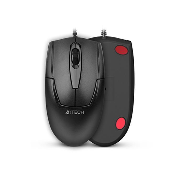 Оптична мишка A4Tech OP 540NU, Черен, USB