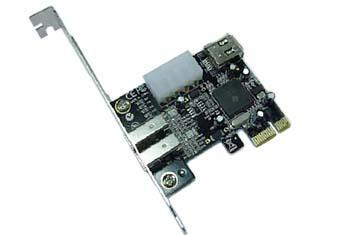 Контролер ESTILLO 1394AV 3+1 port 1394 FireWire PCI ex Host Adapter