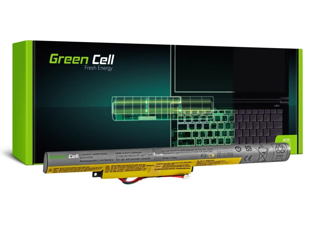 Батерия  за лаптоп IBM Lenovo IdeaPad P500 Z510 P400 TOUCH P500 TOUCH Z400 TOUCH Z510 TOUCH 14.8V 2200mAh GREEN CELL