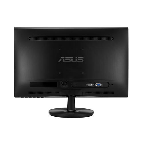 Монитор ASUS VS228NE, TN, 21.5 inch, Wide, Full HD, DVI-D, D-Sub, Черен