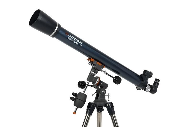 Телескоп Celestron AstroMaster 70EQ, Рефрактор