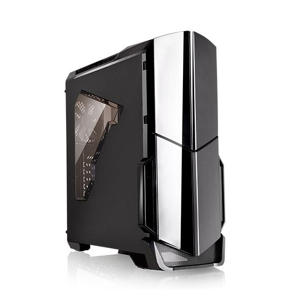 Кутия THERMALTAKE Versa N21, Mid Tower, Черна