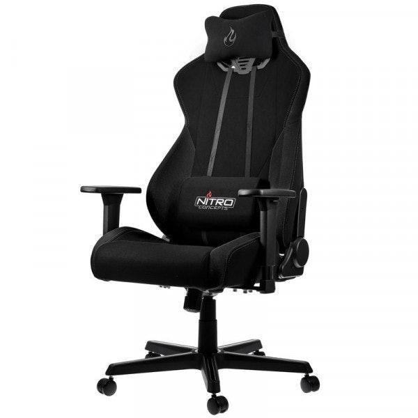 Геймърски стол Nitro Concepts S300, Stealth Black