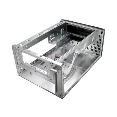 Кутия SPIRE PowerCube SPM210B, Mini ITX, без захранване, Черна