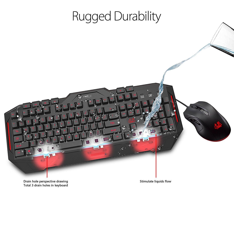 Геймърски комплект мишка с клавиатура ASUS Cerberus Combo