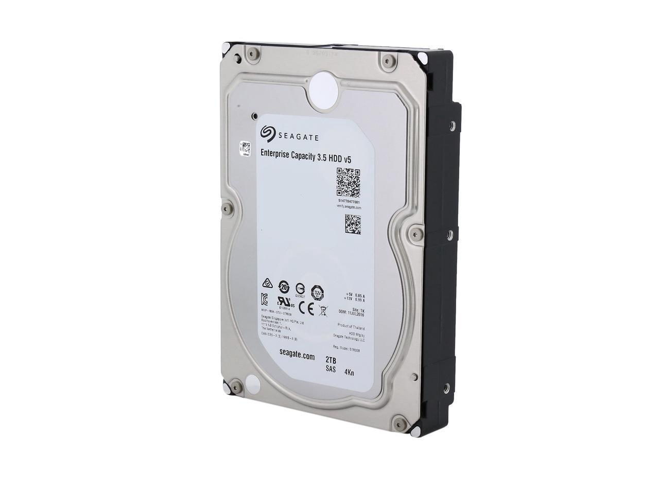 Хард диск SEAGATE, 2TB, 7200rpm, 4Kn SAS 12Gb/s,128MB, ST2000NM0115