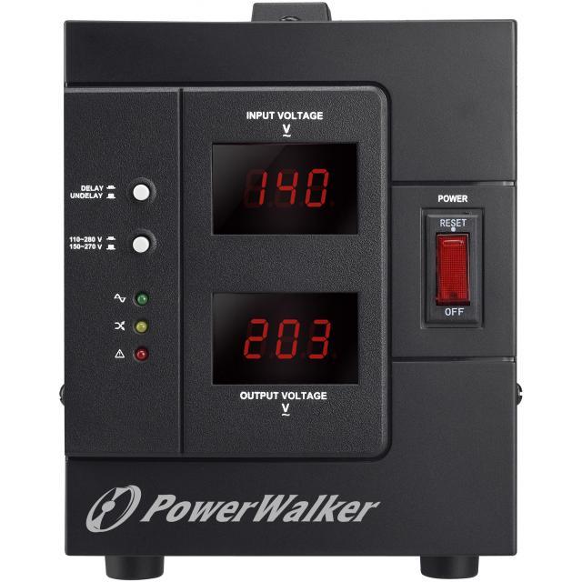 Стабилизатор POWERWALKER AVR 1500 SIV, 1500VA