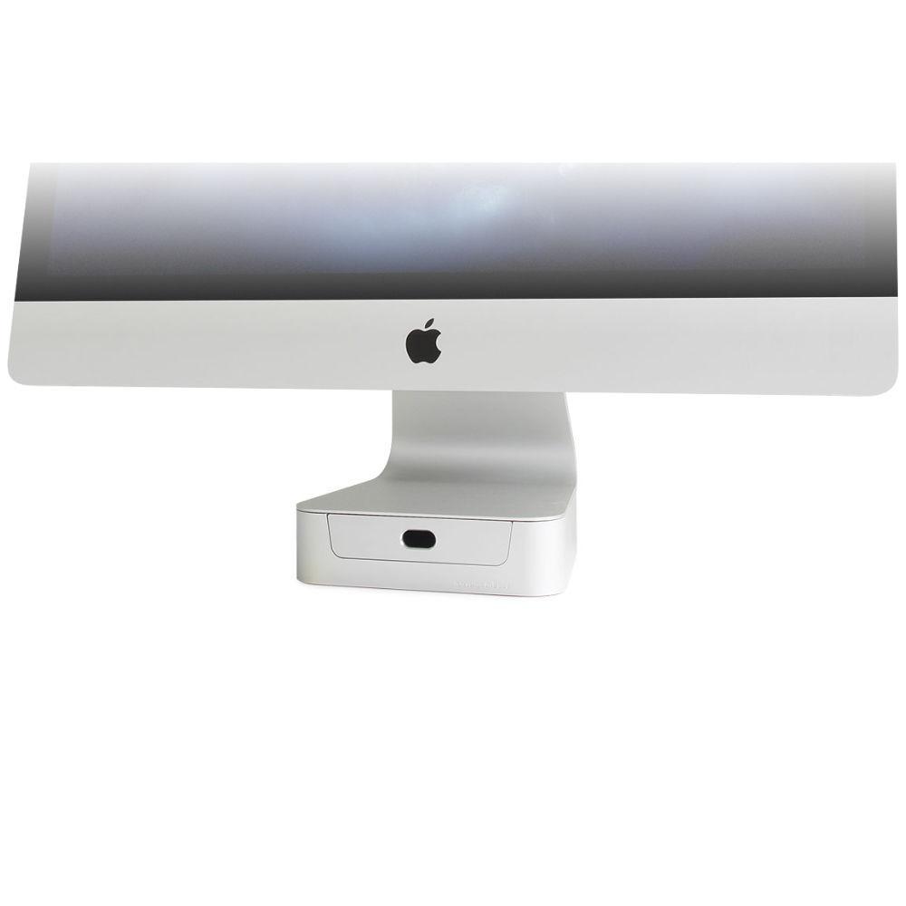 """Поставка за компютър Rain Design mBase за 21.5"""" iMac, Сребриста"""