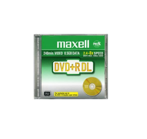 DVD+R Dual Layer, 8.5Gb, 1 бр. jewel case