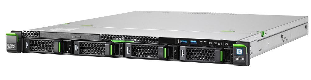 Сървър Primergy RX1330M3 LFF / Xeon E3-1220v6/8GB/2x1000GB/DVD-RW/Rackmont kit/