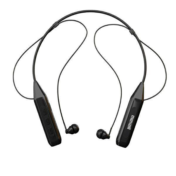 Блутут слушалки Maxell MXH-BTN 450, Черен