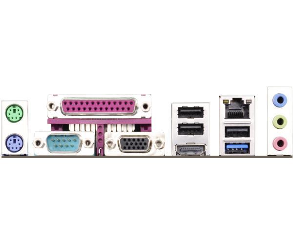 Дънна платка ASROCK D1800B ITX, Intel Dual-Core J1800, Mini ITX, DDR3