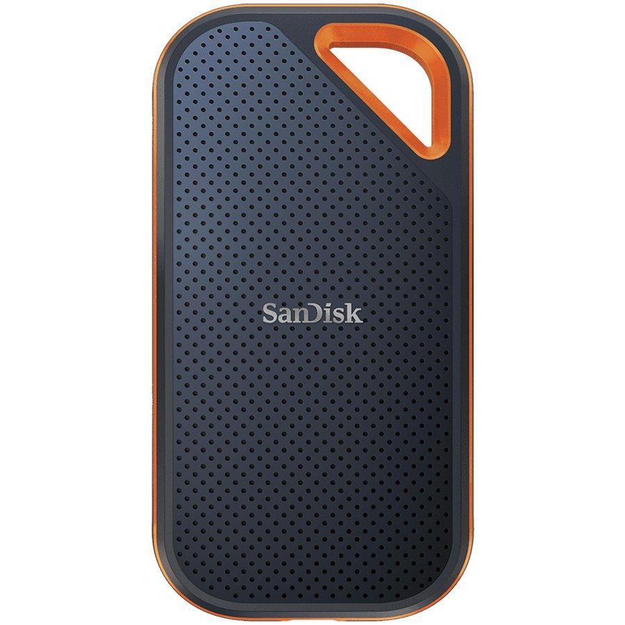 Външен SSD SanDisk Extreme Pro, 1TB, USB 3.1 Gen2 Type-C, Черен