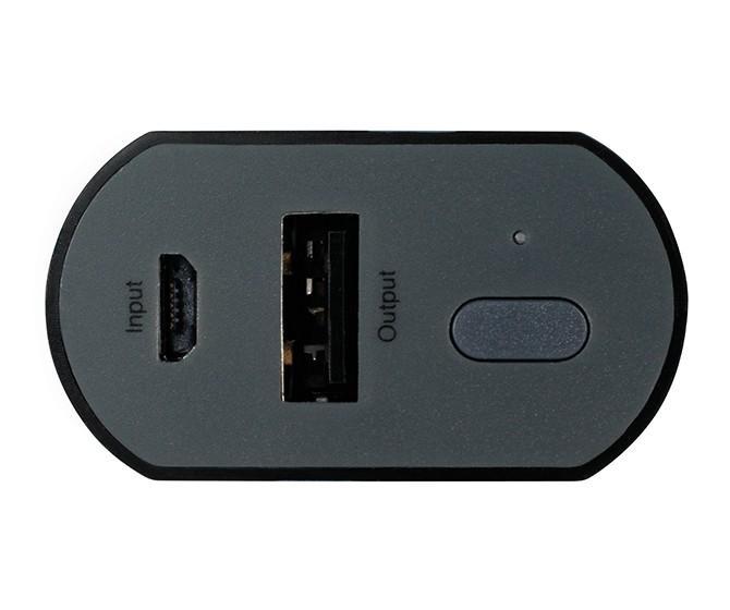 Външна батерия GP GPFN05001, 5200 mAh, Черен