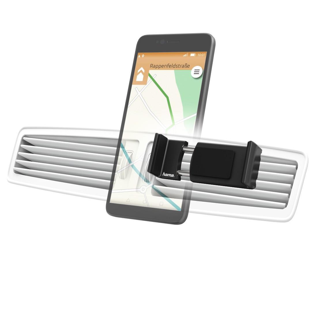 Автомобилна стойка за смартфон HAMA Flipper 178222, за устройства 6 - 8 см, Черен