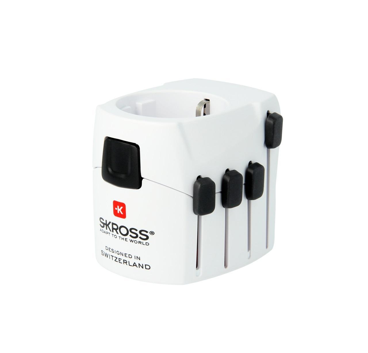 Адаптер Skross PRO 1.103141, 100-250V, 6.3А