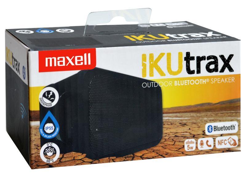 Блутут колонка за мобилни устройства MAXELL IKUTRAX, Черен