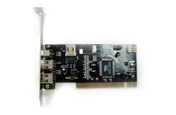 Контролер ESTILLO 1394AV 3 + 1 port 1394 FireWire и 3 USB 2.0 port PCI Host Adapter