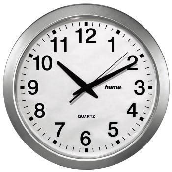 Стенен часовник CWA100 HAMA 92645, Сребрист