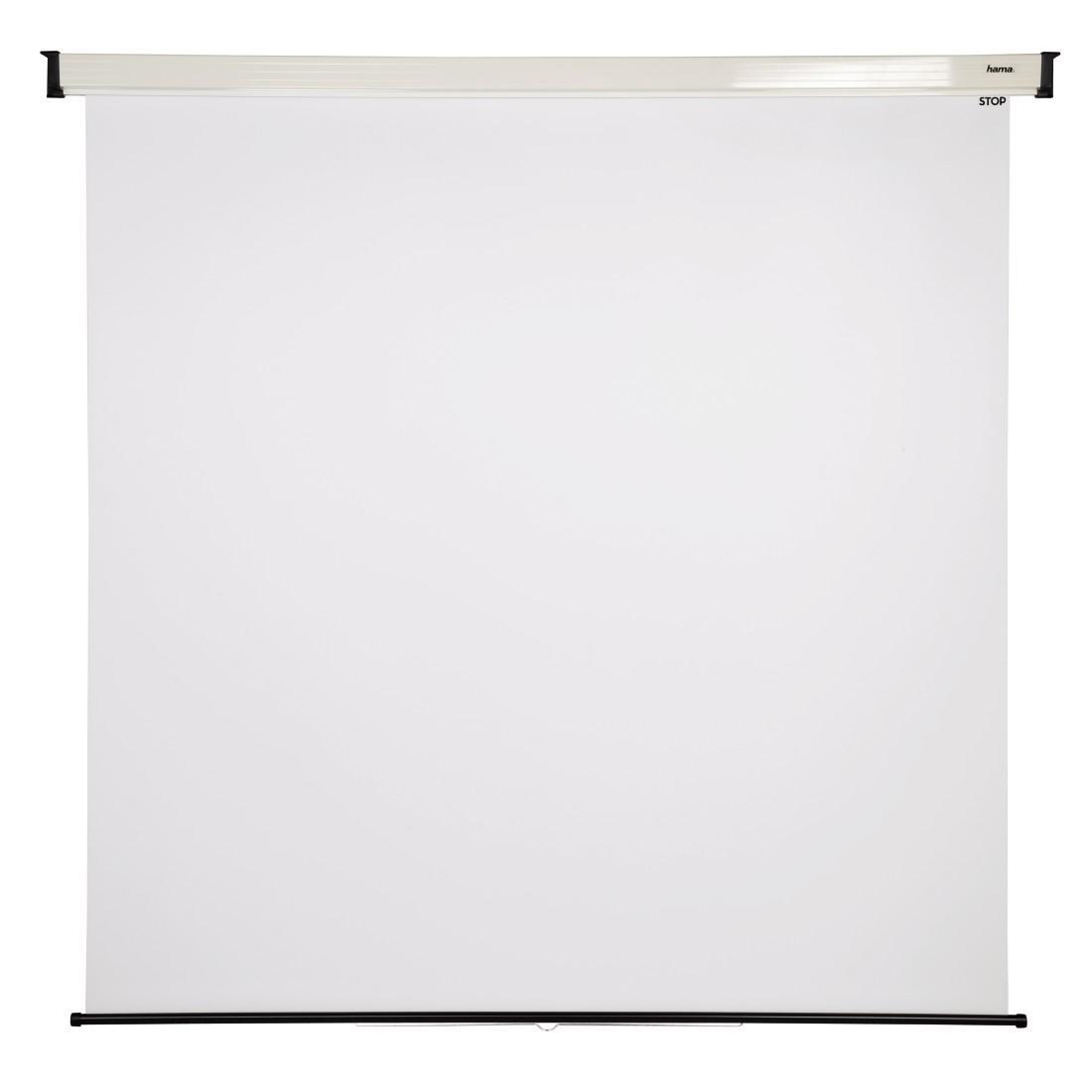 Проекторен екран за стена HAMA 18747, 200 x 200, 1:1