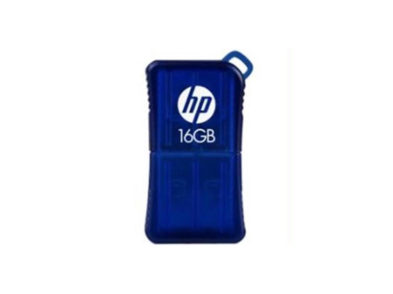 USB памет HP V165W, USB 2.0, 16GB, Син