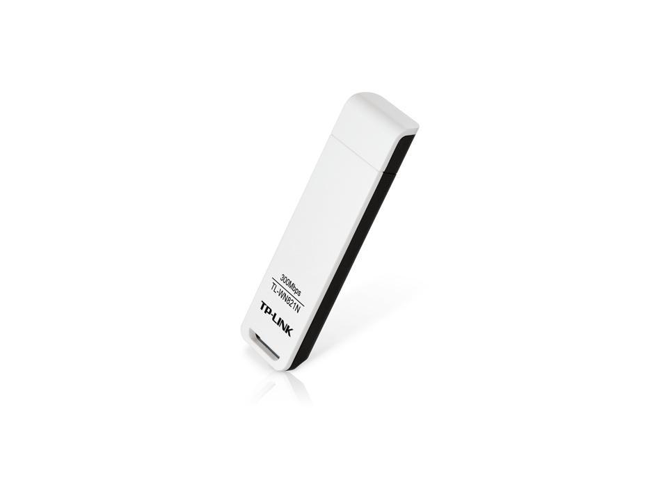 Безжичен адаптер TP LINK TL-WN821N, USB,  2.4Ghz, 802.11n/g/b