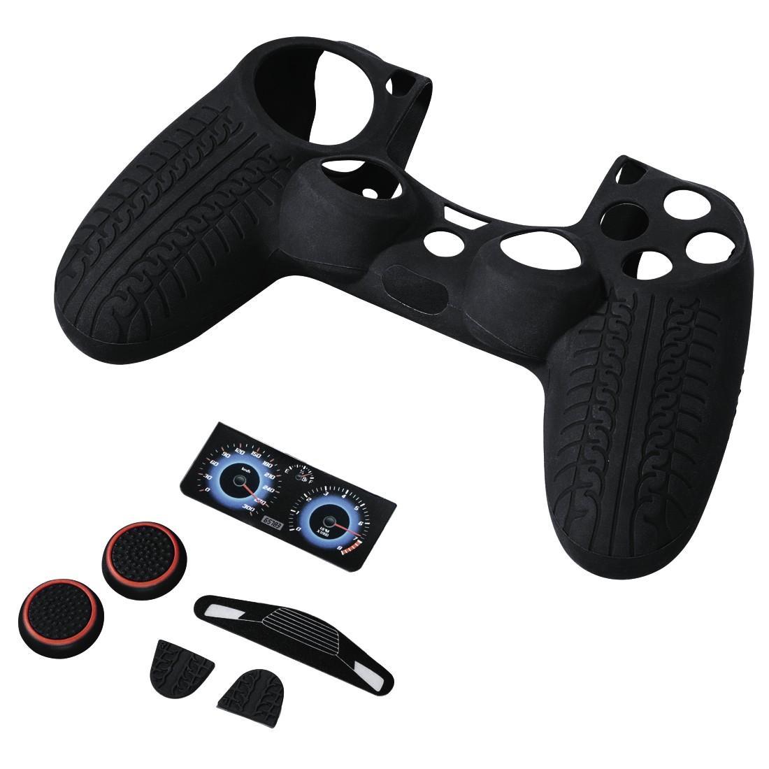 Комплект аксесоари HAMA Racing Set, 7in1 за PS4/SLIM/PRO Dualshock 4 Controller