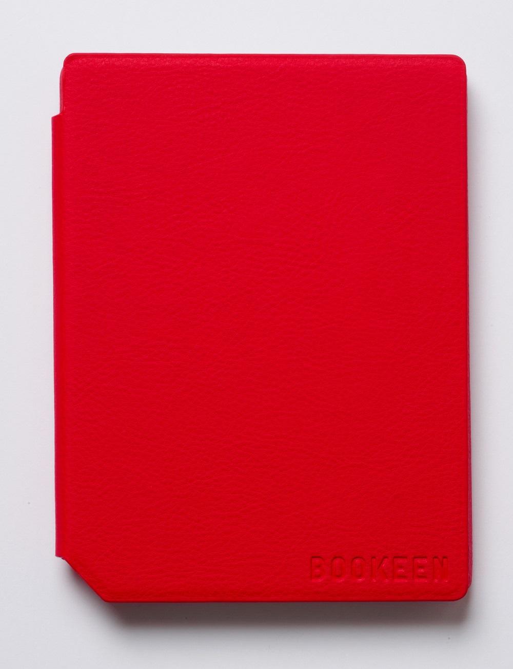 Калъф BOOKEEN за eBook четец Cybook Muse, 6 inch, Червен