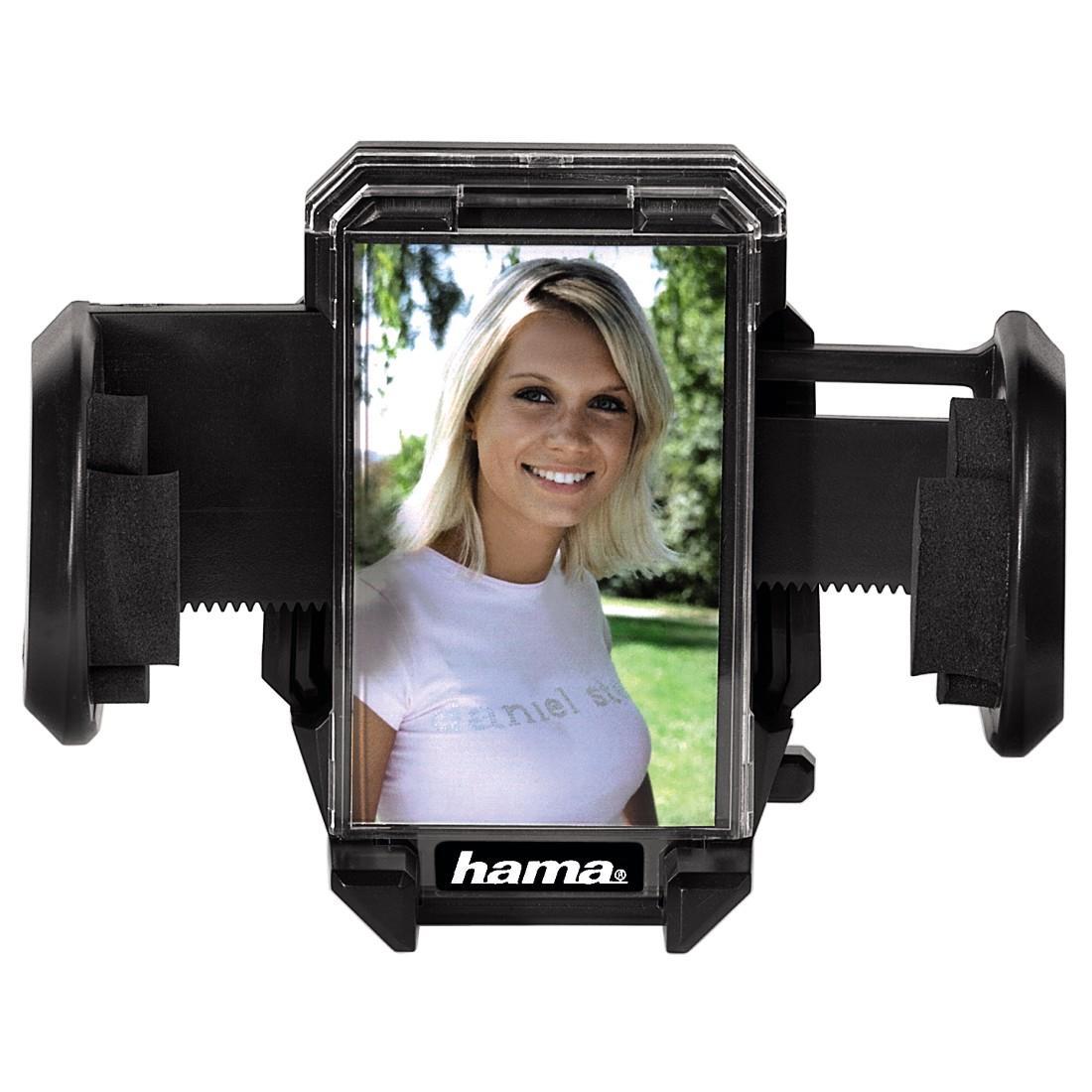 HAMA Универсален холдер за навигации/телефон/таблет за стъкло и кола с р-р: 4-11см