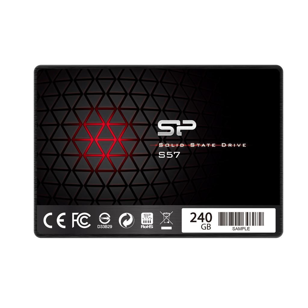 "Solid State Drive (SSD) SILICON POWER Slim S57, 2.5"", 240 GB, SATA3"