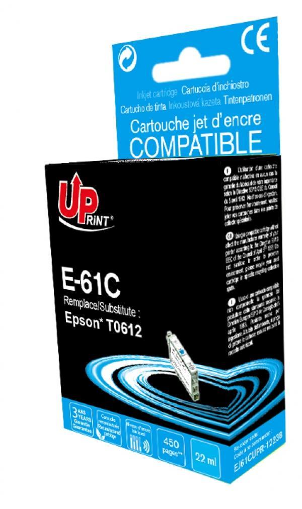 Мастилница UPRINT T0612 EPSON , Cyan
