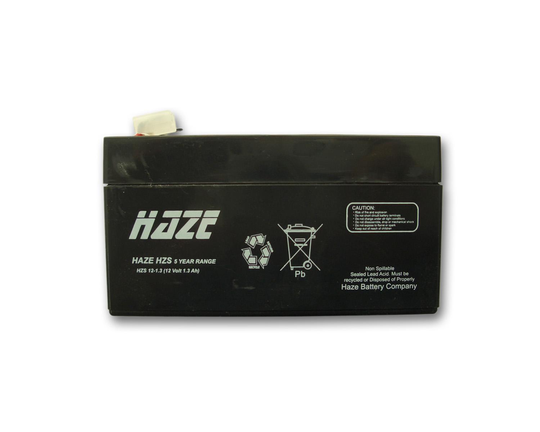 Оловна батерия Haze HZS12-1.3, 12V / 1.3Ah- AGM