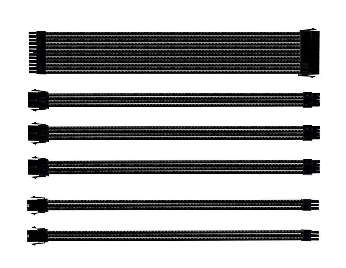 Комплект оплетени кабели Cooler Master Black