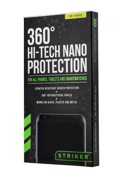 Почистващ комплект 3 в 1 STRIKER 360º, Hi-Tech Nano Protection