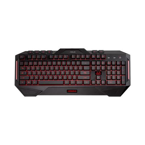 Геймърска клавиатура Asus Cerberus, водоустойчива