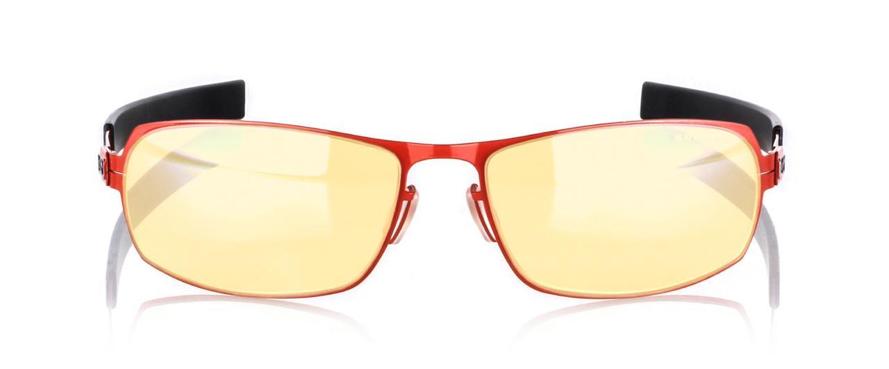 Геймърски очила GUNNAR MLG PHANTOM Carbon Heat, Amber, Червен