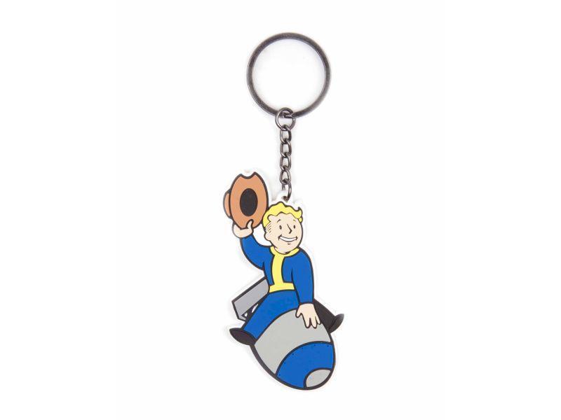 Ключодържател Fallout Bomber Skill, Bioworld