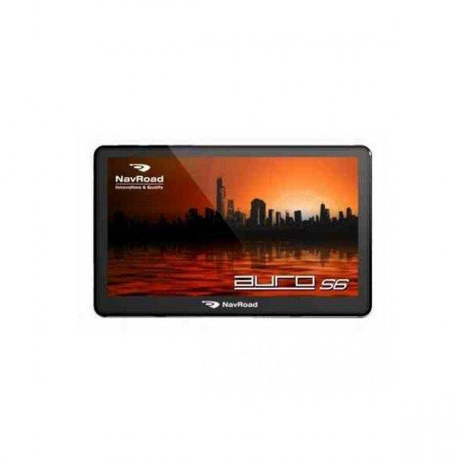 "NAVROAD Auro S6 GPS/Glonass навигационна система, 5"", Win CE, FM, Bluetooth,Navigator Free"