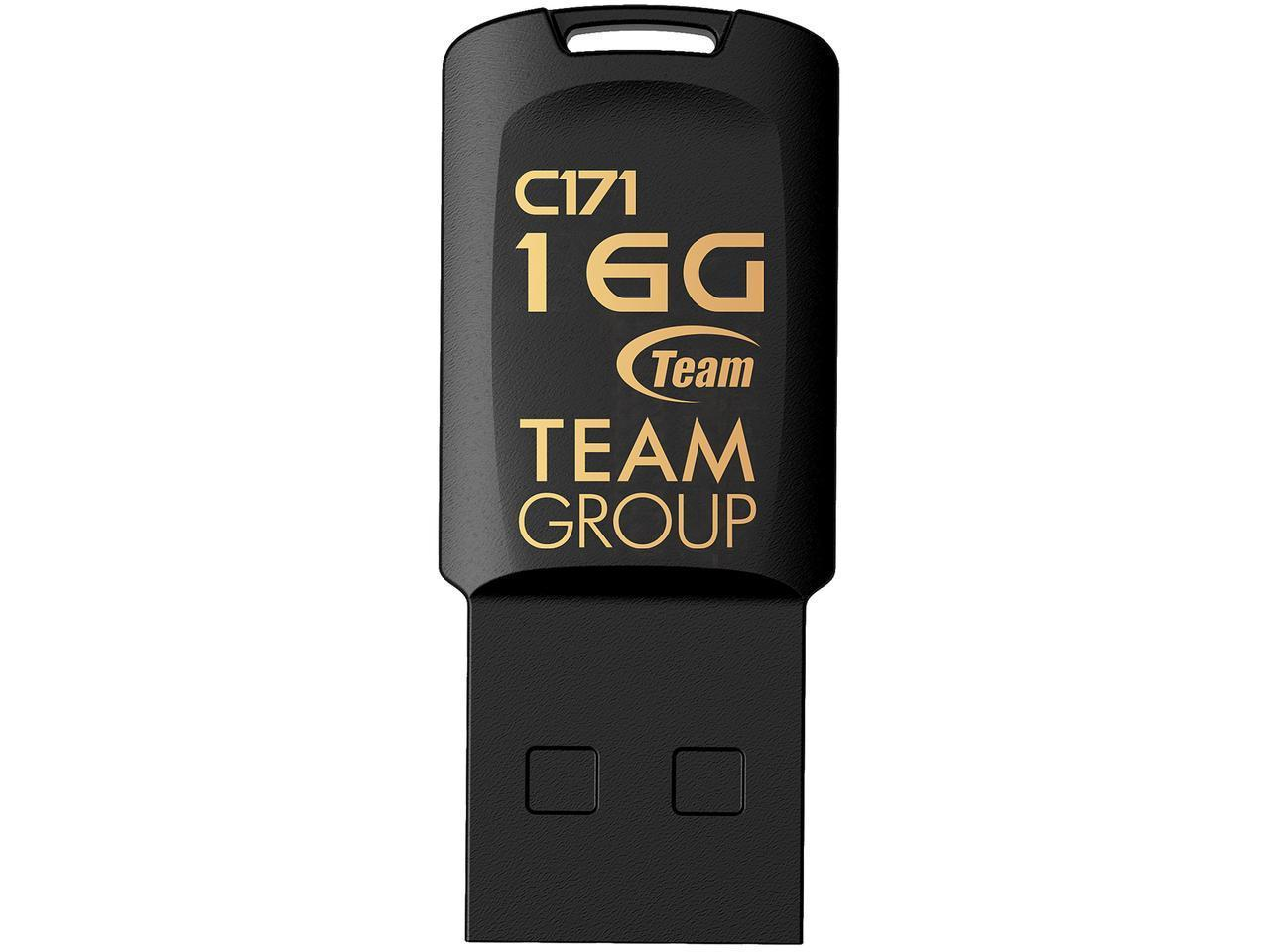 USB памет Team Group C171 16GB USB 2.0, Черен