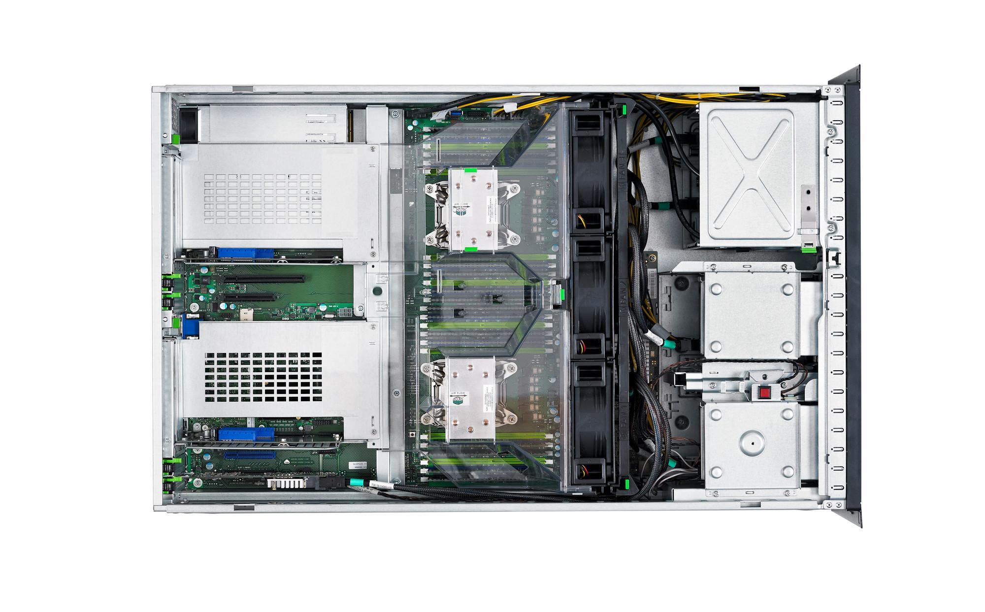 Сървър Primergy TX2560 M2 LFF, Xeon E5-2609v4/8 GB/DVDRW/8x3.5 KIT/RAID 12G 1GB/ 2X1GB IF CARD/KIT/PSU 450W HP
