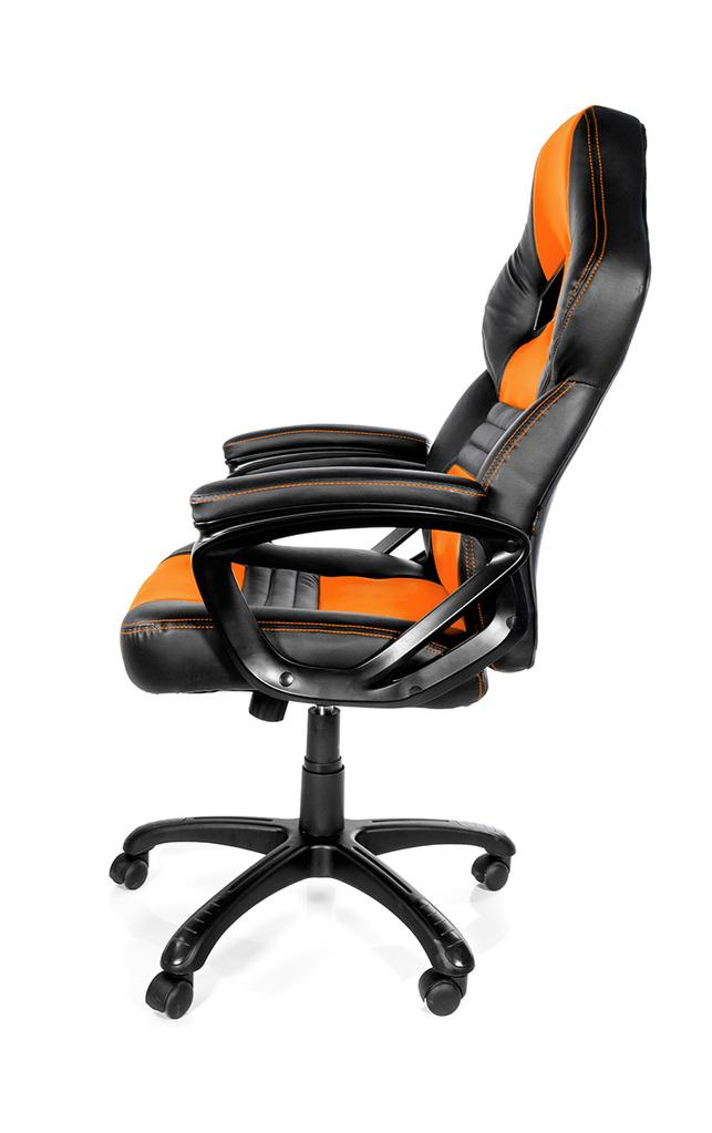 Геймърски стол Arozzi Monza, Оранжев