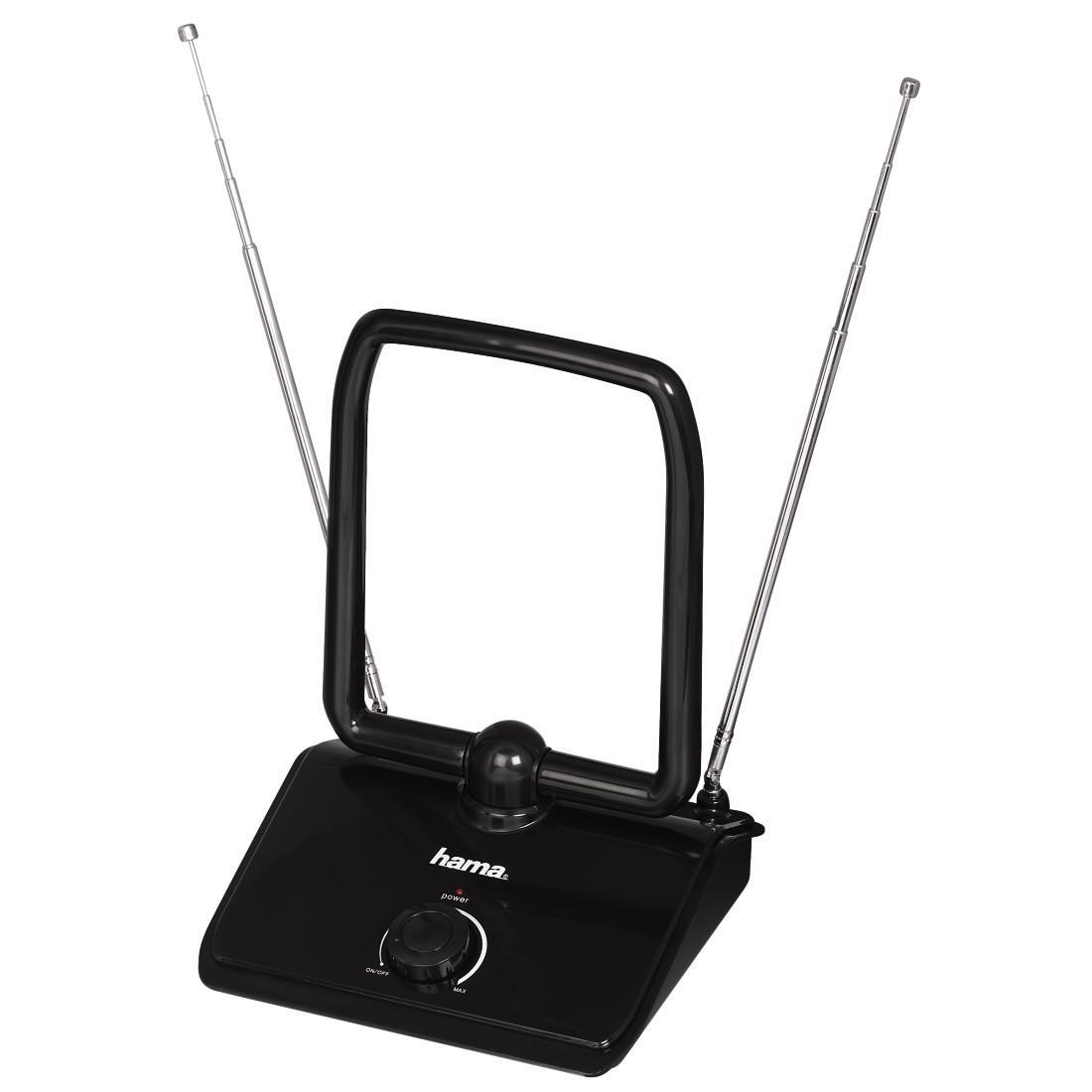 Вътрешна антена HAMA 44273, DVB-T/DVB-T2, 40 dB