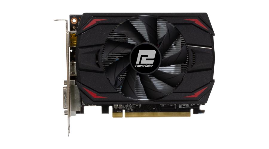 Видео карта PowerColor Red Dragon, Radeon RX 550, 4GB, GDDR5