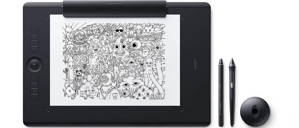 Графичен таблет Wacom Intuos Pro M Paper, Черен