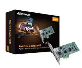 Външен тунер AVerMedia AVER 3D CAPTURE HD