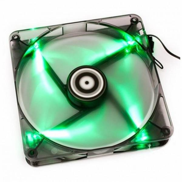 Лампа в зелено за вентилатор 80 mm SPIRE