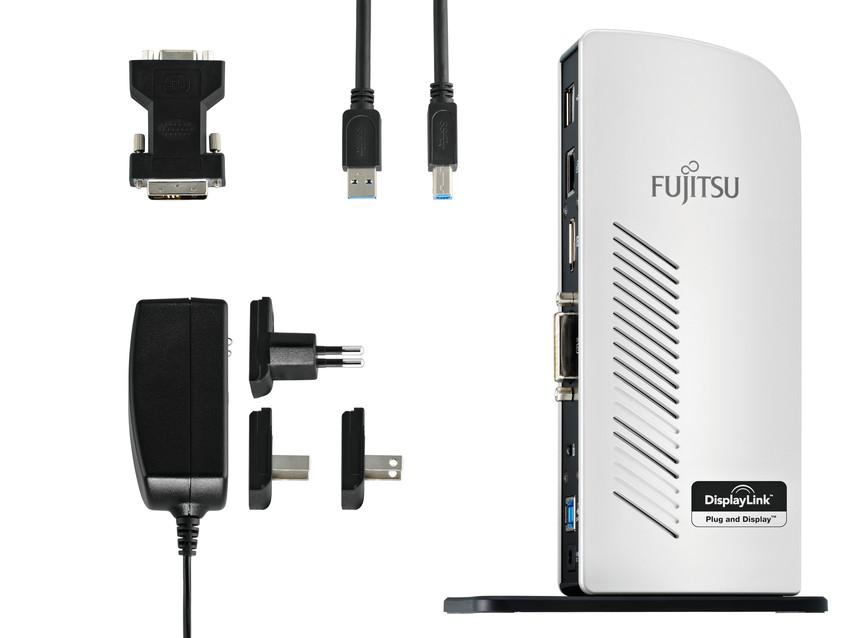 Порт репликатор FUJITSU USB 3.0 Port Replicator PR08