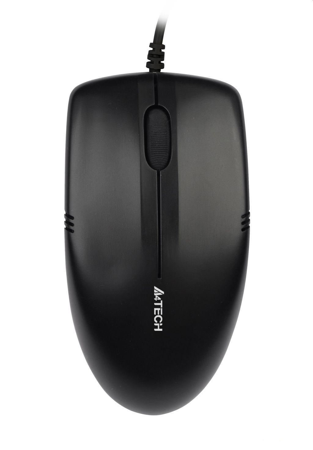 Оптична мишка A4Tech OP 530NU, Черен, USB