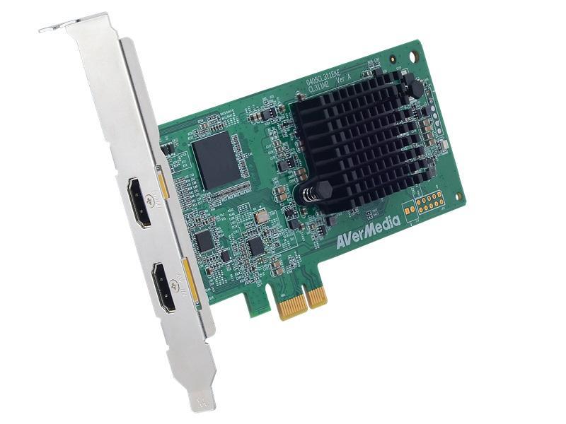 Висококачествен кепчър AVerTV CL311-M2, Full HD, HDMI 1080P 60FPS, PCIe