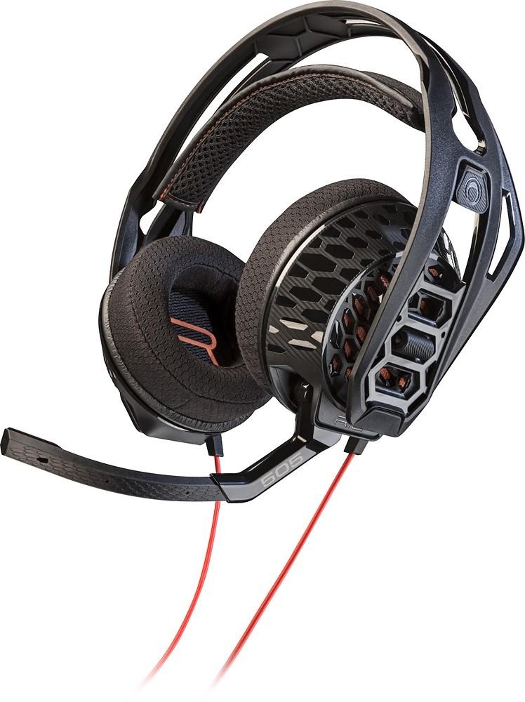 Геймърски слушалки Plantronics, RIG 505 Lava, Микрофон